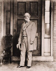 Vintage Photograph of Robert E. Lee