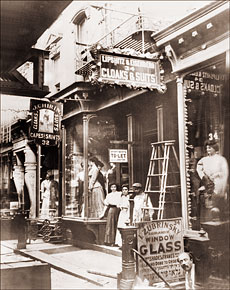 Clothing Store On Lower East Side Historical Photos Of