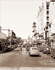 Used Cars Bay Area >> Santa Cruz - Pacific Ave. (Historical Photos of Old America)