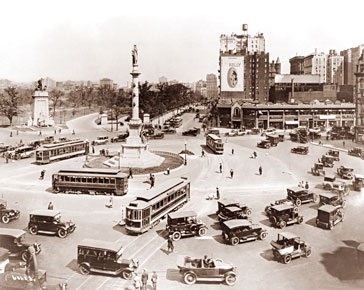 Columbus Circle Historical Photos Of Old America