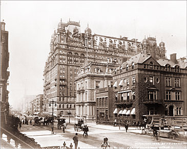 Vintage Photograph of Waldorf-Astoria