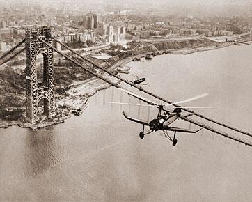 George Washington Bridge Construction Historical Photos