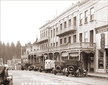 Nevada City National Hotel Historical Photos Of Old