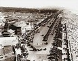 Vintage Photograph of Playland and Ocean Beach  San Francisco