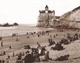 Vintage Photograph of Cliff House & Beach