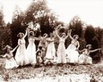 Vintage Photograph of Dancers in Grecian Dress