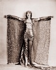 Vintage Photograph of Sequinned Dancer