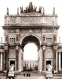 Vintage Photograph of Arch of the Rising Sun - PPIE