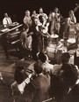 "Vintage Photograph of Billie Holiday sings ""Fine & Mellow"""