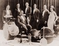 Vintage Photograph of Louis Armstrong & the King Oliver Jazz Band with Louis Armstrong