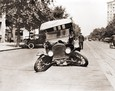 Vintage Photograph of Auto Wreck