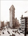 Vintage Photograph of Flatiron Building