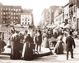 Vintage Photograph of Hester Street