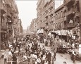 Vintage Photograph of Mulberry Street - New York City