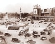 Vintage Photograph of Columbus Circle