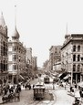 Vintage Photograph of Spring St. LA