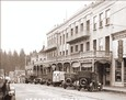Vintage Photograph of Nevada City - National Hotel