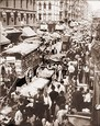 "Vintage Photograph of Hester St. ""Congestion"""