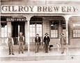 Vintage Photograph of Gilroy Brewery
