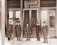 Vintage Photograph of Bank of Gilroy