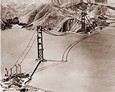 Vintage Photographs of Golden Gate & Bay Bridges