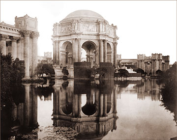 Palace Of Fine Arts Historical Photos Of Old America
