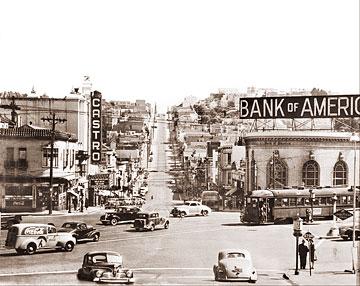 San Francisco - Castro & Market Streets (Historical Photos ...