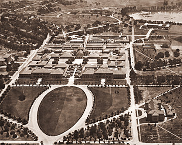 Stanford University Oval (Historical Photos of Old America)