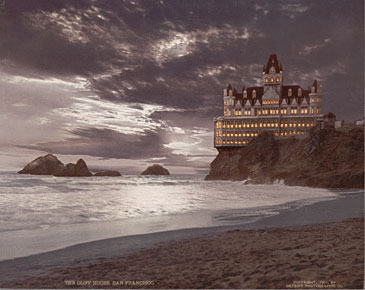 Cliff House Hand Colored Historical Photos Of Old America